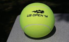 US Open Wilson 2014 tenisowa piłka przy Billie Cajgowego królewiątka tenisa Krajowym centrum Obraz Stock