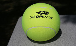 US Open-Wilson-Tennisball 2014 bei Billie Jean King National Tennis Center Stockbild