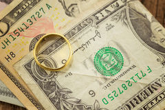 Us paper currency Royalty Free Stock Photo
