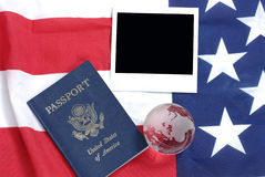 US passport Royalty Free Stock Photography