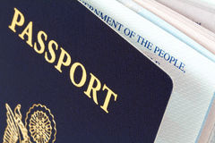 Us passport Royalty Free Stock Images