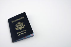 US passport Stock Photos