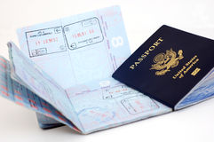 US Passport: Frankfurt Stock Photos