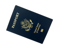 US Passport On A White Background Stock Image