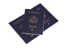 US Passports Stock Photo