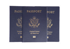 US Passports Stock Image