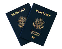 Us passports Royalty Free Stock Image