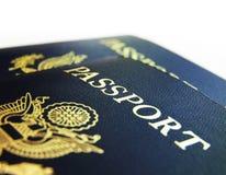 US passports closeup Stock Image