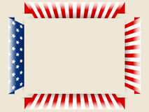 US patriotic background. Vector of US patriotic background Stock Photo