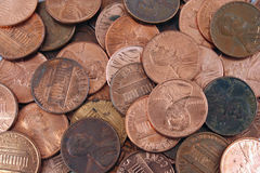 Free US Pennies Background Stock Images - 3769684