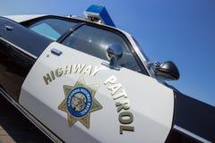 US Police car Stock Photos