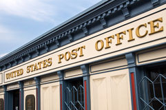 US Post Office building Royalty Free Stock Photos