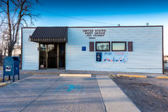 US Post Office in Joes Colorado, 80822 Zip Code, a small town off Highway 36, Eastern Colorado Royalty Free Stock Photos
