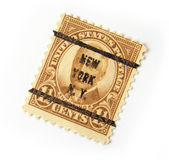 US Postage Stamp. Old postage stamp from US, with Harding Stock Photography