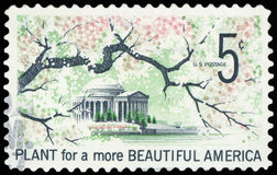 US Postage Stamp. Beautiful America royalty free stock photos