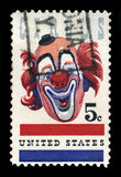 US Postage Stamp Celebrating the American Circus Royalty Free Stock Images