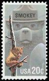 US Postage stamp - Smokey Stock Images