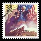 US Postage stamp royalty free stock photo