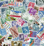 US Postage Stamps. Used USPostage Stamps stock image