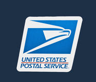 Us postal service logo. United states postal service emblem and logo Stock Photography
