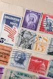 US postmarks Stock Image