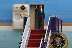 US Präsident Barack Obama Stockbilder