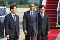US Präsident Barack Obama Lizenzfreie Stockfotos
