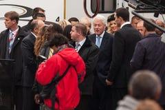 US Präsident Bill Clinton Stockfotografie