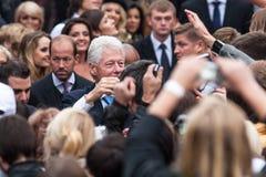 US Präsident Bill Clinton Lizenzfreies Stockbild