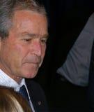 US Präsident George W Bush Stockbild