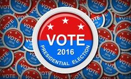 US-Präsidentschaftswahl lizenzfreie stockfotos