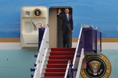 Us-president Barack Obama Arkivbilder