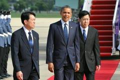 Us-president Barack Obama Royaltyfria Foton