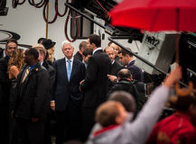 US President Bill Clinton Stock Photography