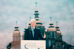 US President Bill Clinton Royalty Free Stock Photography