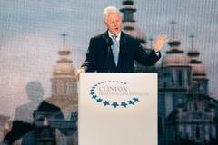 US President Bill Clinton Stock Photo