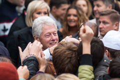 US President Bill Clinton Royalty Free Stock Photos