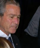 US President George W Bush Stock Image