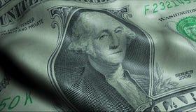 Free US President George Washington Crumpled One Dollar Bill Obverse Stock Photo - 147952040