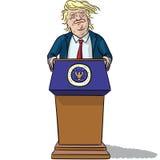 US President Trump Royalty Free Stock Image