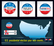 Us presidential election in 2012 Stock Photo