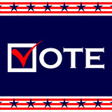 US 2016 Presidential Election Royalty Free Stock Photo