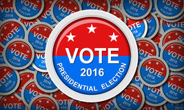 US presidential election Royalty Free Stock Photos
