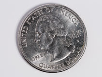 US Quarter Dollar Royalty Free Stock Photo