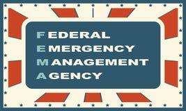 US-Regierungskonzeptakronym lizenzfreie abbildung