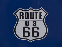 US 66 Route 66 in Oklahoma - STROUD - OKLAHOMA - OCTOBER 24, 2017 Stock Image
