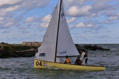 US Sailing professional event Royalty Free Stock Photography