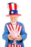 US Savings Plan Stock Image