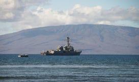 US-Schiff Stockbild