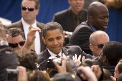 Us-Senator Barack Obama Arkivfoton